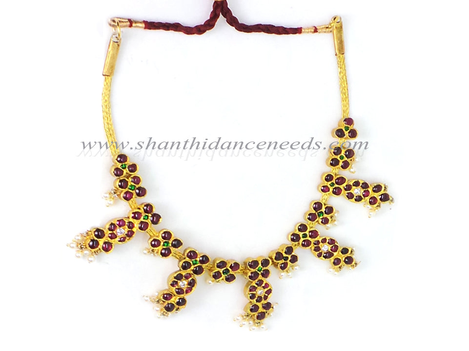 Temple Jewellery Short Necklace - New Model spl