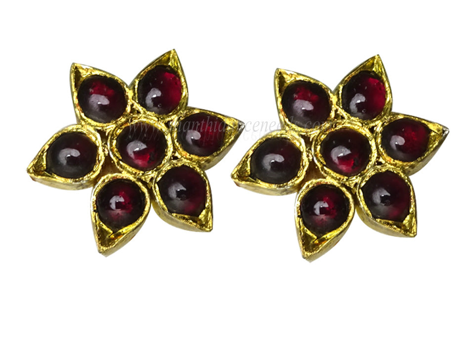 Temple Jewellery Teeka Stud