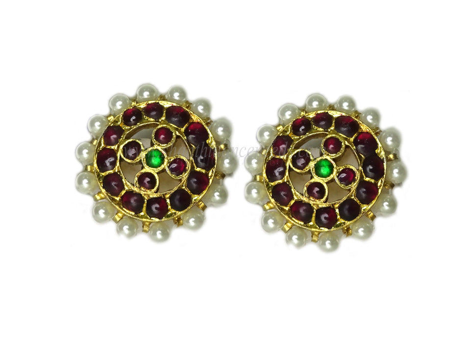 Temple Jewellery MUTHU STUD