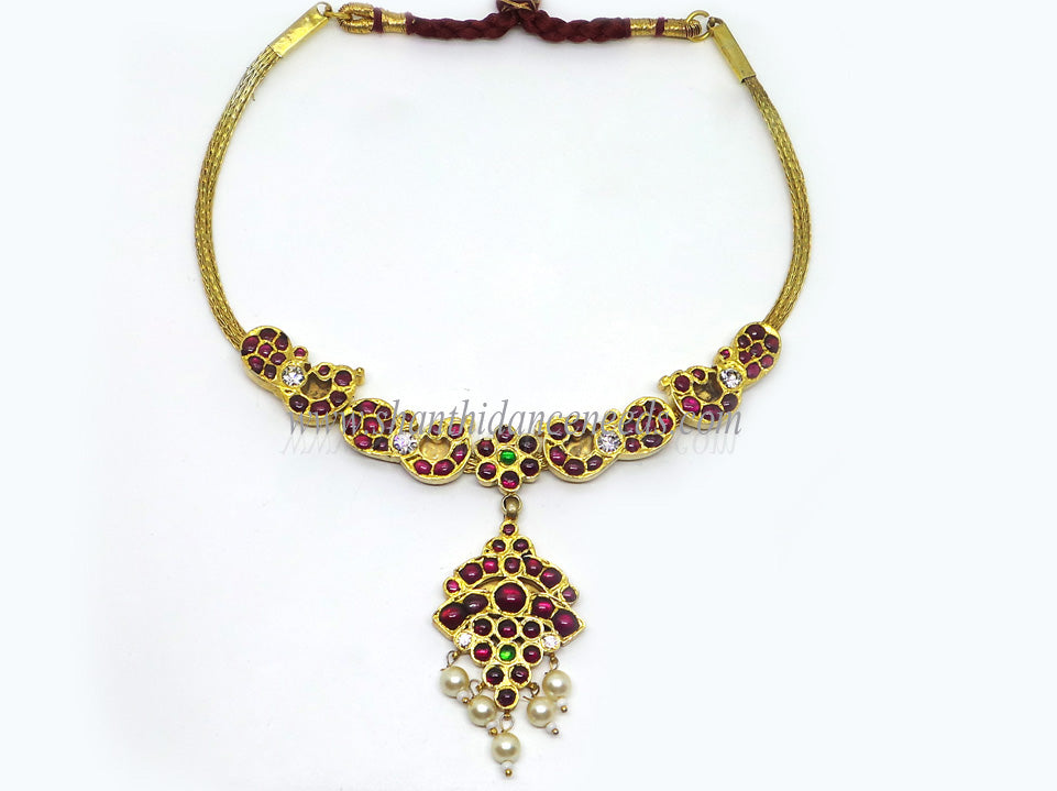 Temple Jewellery Necklace - TJ064