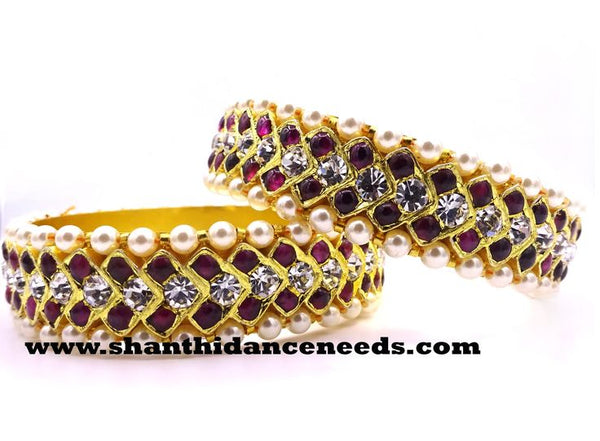 Temple Jewellery MUTHU BANGLE