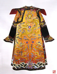 A Chinese dragon robe was only ever meant to adorn a royal body.