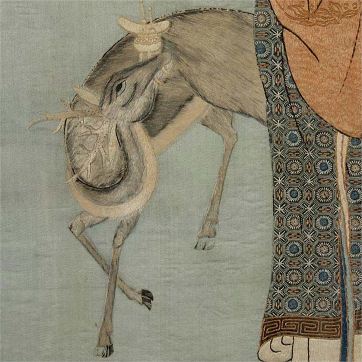 Art of silk blog animal symbolism in chinese art in chinese deer is a homophone for the word l referring to a civil officials attractive salary buycottarizona