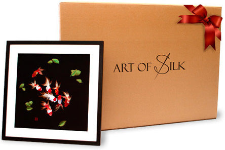 Art of Silk Gift Box and Silk Art