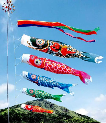 Japanese Koi flags