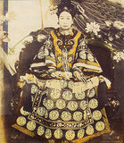 Chinese Empress Dowager Cixi of the Qing Dynasty.