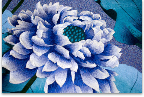 Blue Lotus Flower-3