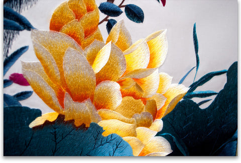 Golden Lotus Flower-3