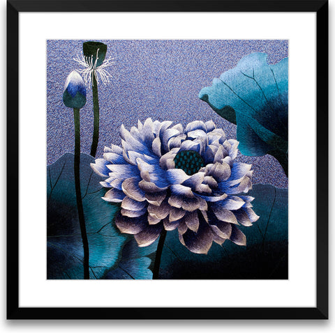 Blue Lotus Flower-1