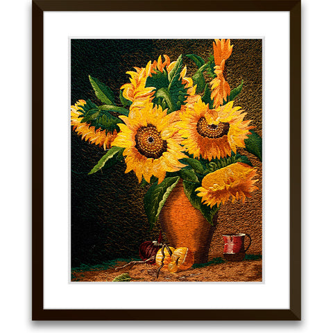 Blossomed Sunflowers-1