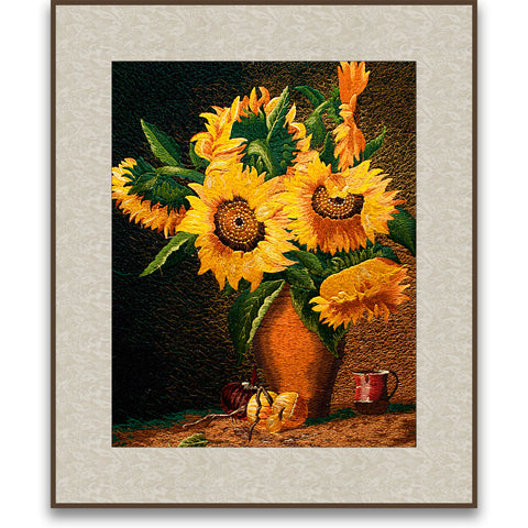 Blossomed Sunflowers-2
