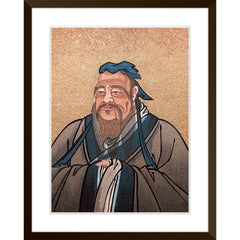 Portrait of Confucius