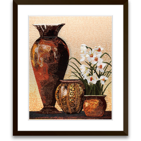 Vases and Flowers-1