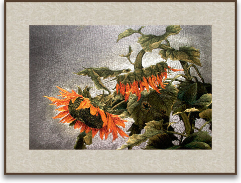 Wilted Sunflowers-2