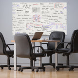 Non-Adhesive Backed Magnetic Dry-Erase Board for Wall, Whiteboard Sticker for Office / Home / School
