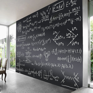 ZHIDIAN Magnetic Chalkboard Contact Paper for Wall, Non-Adhesive Back Chalkboard Wallpaper, Blackboard Wall Sticker with Chalks for Home/School/Playroom