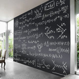 Non-adhesive Backed Magnetic Chalkboard Sticker for Wall, Chalkboard Contact Paper, 94x48 inches