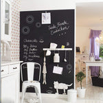 Self-Adhesive & Magnetic Chalkboard for Wall