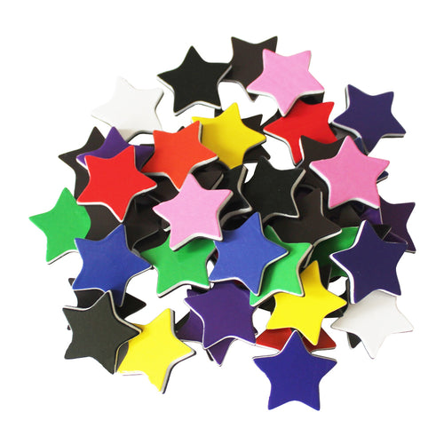 ZHIDIAN Star-Shaped Colored Magnets for Presentation Whiteboard/Chalkboard