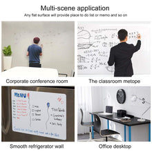 Load image into Gallery viewer, Self-Adhesive Magnetic Whiteboard for Wall, Peel & Stick Dry-Erase Board for Office / Home / School