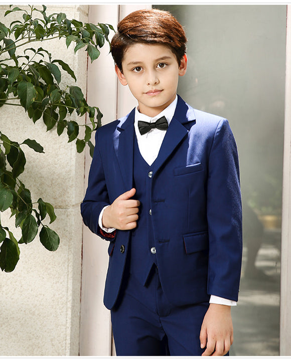 Boy Formal Suit For Wedding Boys Clothes Set three Pieces