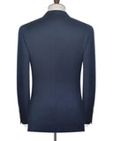 Double Breasted Navy Blazer Three Pieces PL547