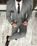 CB05141 Olive /Dark green Men Blazer Prom Suit Outfits for Graduation ,Wedding Suit Three Pieces (Jacket+pants+vest)