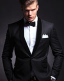 Black Velvet Lapel men's business suits tuxedos Gentleman blend groom suit 3 pieces(jacket+ Pants +bow)