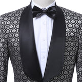 2019  Embroidered Prom Dress Suits Stage Singer Costume Homme Mens Suits With Pants
