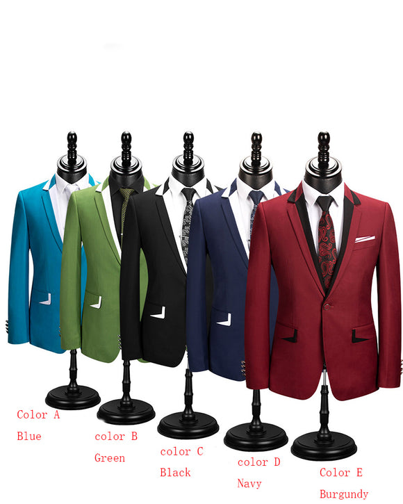 Slim Fit Men's Formal Dress Outfits 3 Pieces Suits Prom Tuxedos CB0926