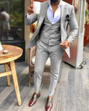 Champagne 3 Pieces Blazer Suit for Men / Wedding Tuxedo 2020 CB6877