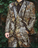 New Camo Wedding Tuxedo 2020 Wedding Camouflage Suit Custom Made Slim Fit Mens Blazers Fashion Groom Wear 3 Pieces (Jacket+Pant+vest)