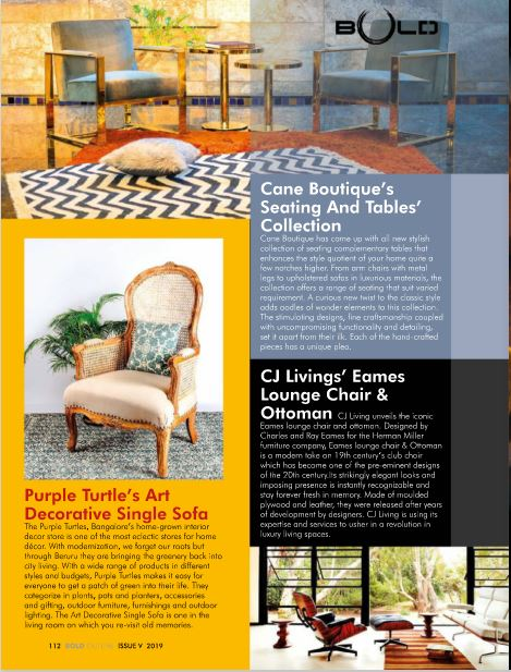 Coverage - Tribune & Bold Outline Magazine