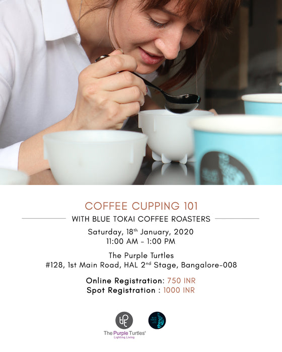 Coffee Cupping Session with Blue Tokai on 18th Jan