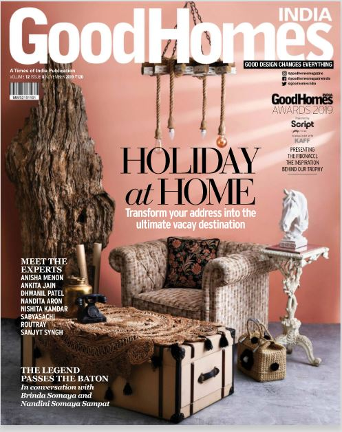 Coverage - GoodHomes India - November 19""