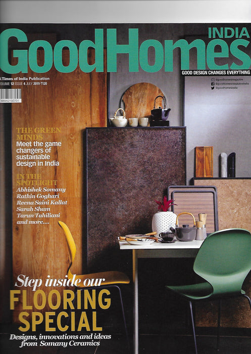 Coverage - GoodHomes India 19""