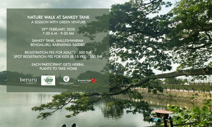 Nature Walk At Sankey Tank: Session with Beruru and Green Venture