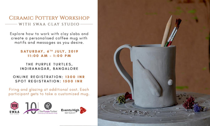 Ceramic Pottery Workshop with Swaa