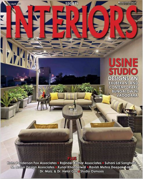 Coverage - Society Interiors - April 19""