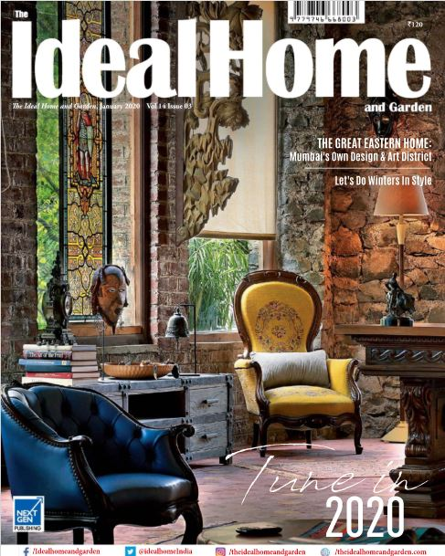 Coverage | The Ideal Home & Garden | Jan 2020