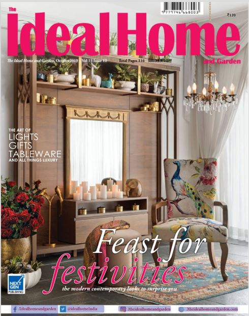Coverage - The Ideal Home & Garden October Issue