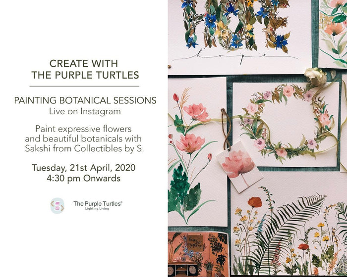 Instagram Live: Painting Botanical Sessions