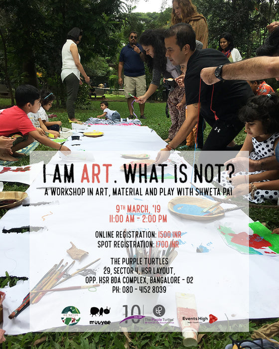 I Am Art, What Is Not? - Workshop