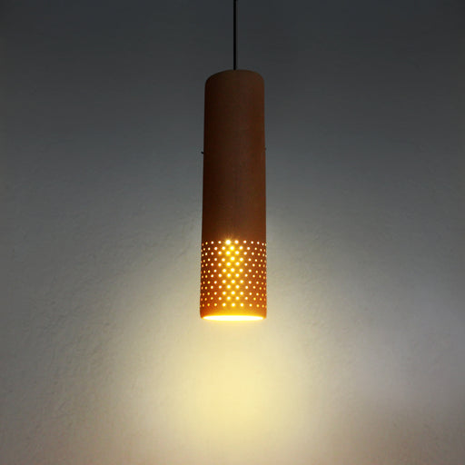 Straw Terracotta Pendant Lamp