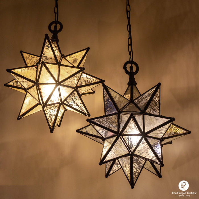 Star Glass Pendant Lamp