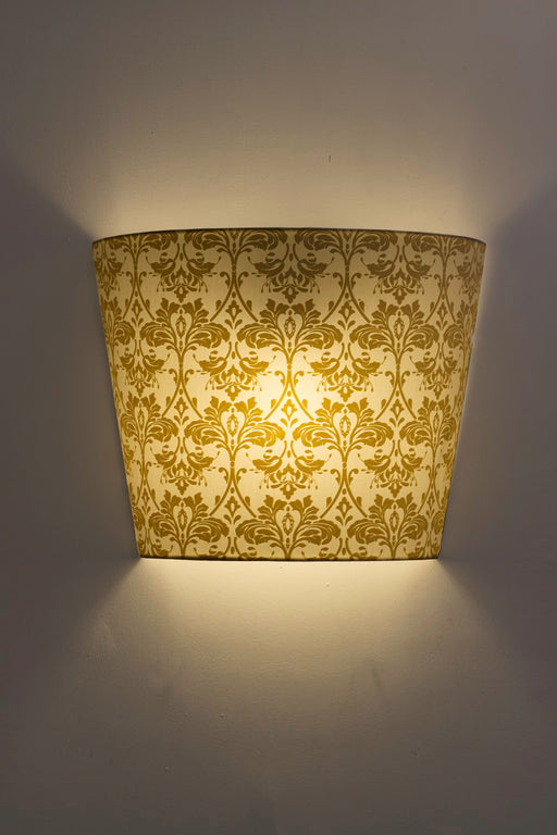 Acanthe Print Wall Lamp