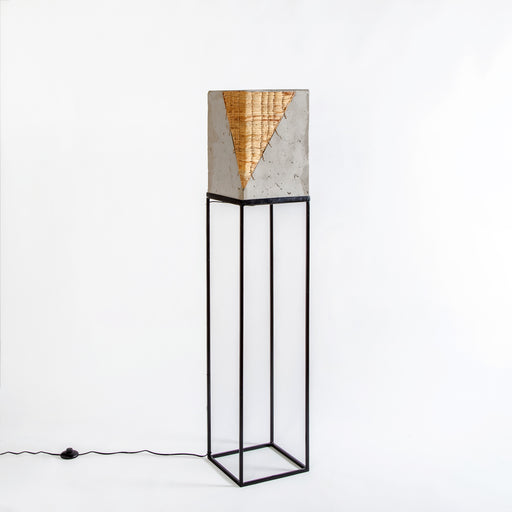 Rigel Floor Lamp with Water Hyacinth