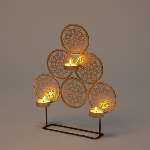 Rangoli Table T Light Holder