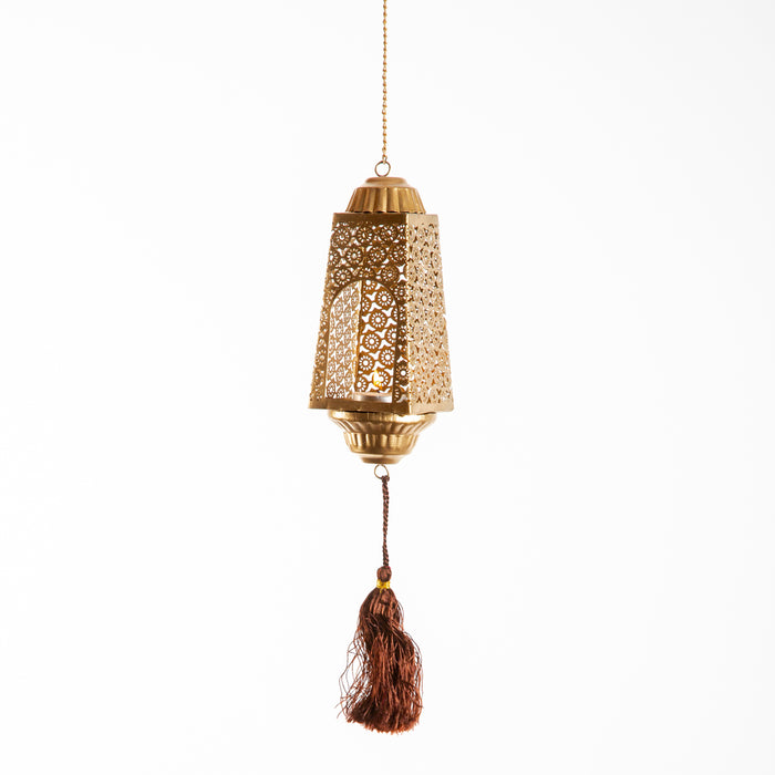 Phulkari Hanging T light Holder