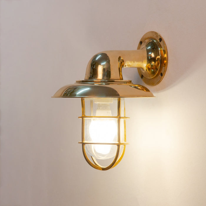 Panama Wall Lamp (Brass Casted)